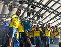 Sweden national under-21 football team celebrates in Kungsträdgården 2015-21.jpg