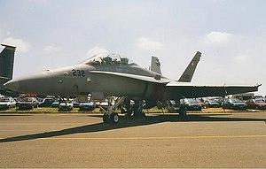 Swiss Air Force McDonnell Douglas F-A-18D Hornet Brown-1.jpg