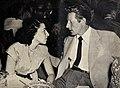 Sylvia Fine and her husband Danny Kaye, 1948.jpg