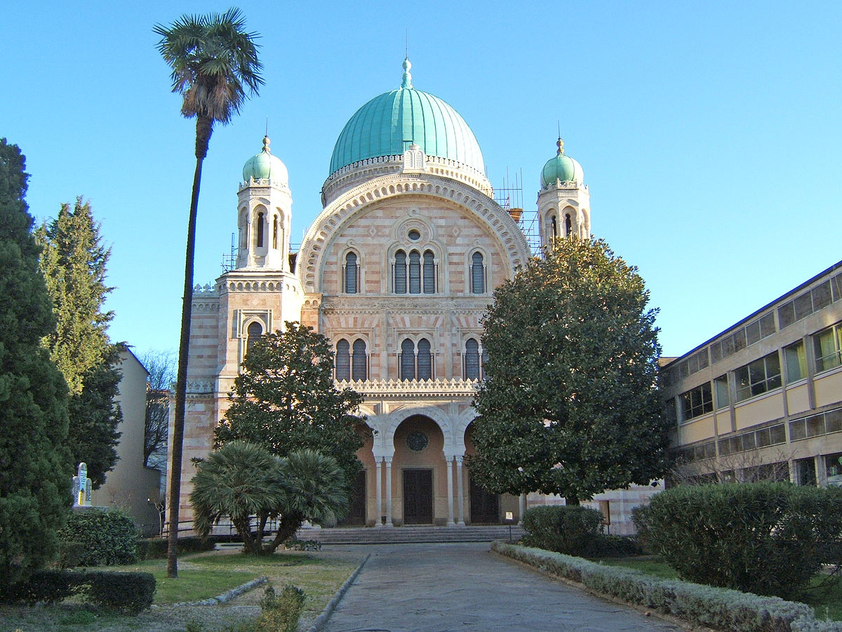Italian Florence: Great Synagogue Of Florence