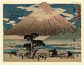 Tōkaidō (Kyōka Iri Tōkaidō) Hara by Hiroshige.jpg
