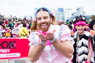 Ladybeard - Ladybeard at T-SPOOK 2016, an event held at Odaiba.