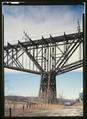 TOWER DETAIL, POUGHKEEPSIE SIDE - Poughkeepsie Bridge, Spanning Hudson River, Poughkeepsie, Dutchess County, NY HAER NY,14-POKEP,8-31 (CT).tif