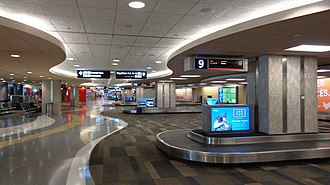 Tampa International Airport - Landside Terminal – Baggage Claim