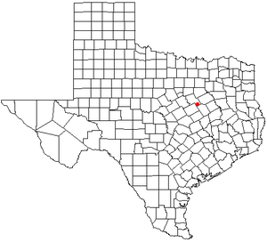 Birome, Texas - Location of Birome in the state of Texas.