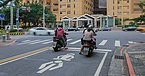 Taipei Taiwan Motorbikes-waiting-at-junction-in-front-of-hospital-01.jpg