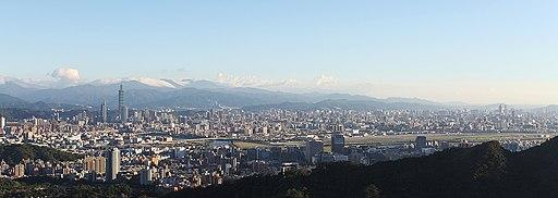 Taipei landscape