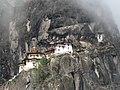 Taktshang (Tiger's Nest) Monastery, Paro Valley 2.jpg