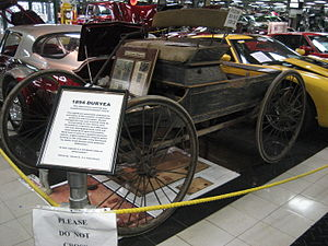 Charles Duryea - 1894 Duryea Automobile at the Tallahassee Antique Car Museum