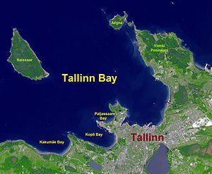 Tallinn Bay - Parts of the Tallinn Bay.