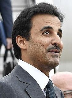 Amir of Qatar since 25 June 2013