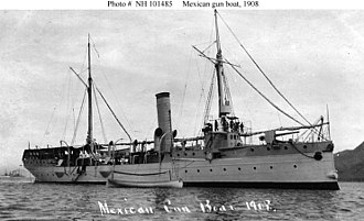 Fourth Battle of Topolobampo - Tampico in 1908.