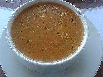 Tarhana - Tarhana soup in Ankara