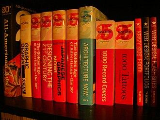 Taschen - Some art books published by Taschen.