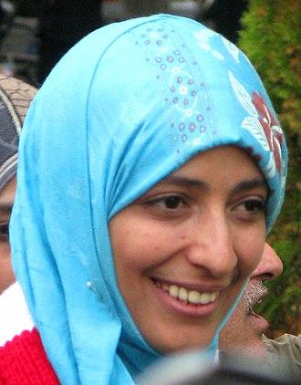 Tawakkol Karman - Image: Tawakkul Karman (2011)