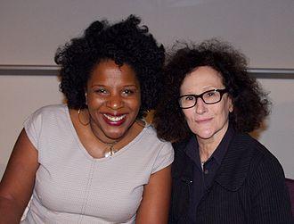 Tayari Jones - Jones with Lynne Tillman at the 2011 Brooklyn Book Festival.