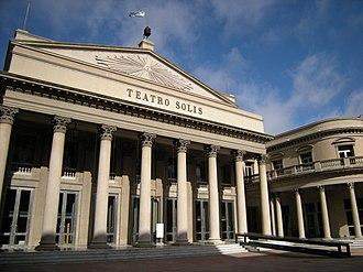 Montevideo Department - Image: Teatro Solis (3766278067)