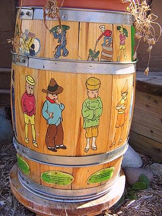 The Teenie Weenies - Image: Teenie Weenie Barrel 2