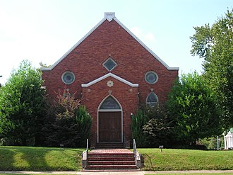 National Register of Historic Places listings in Haywood County, Tennessee - Image: Temple Adas Israel