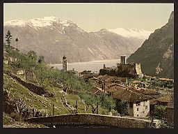 Tenno and Mont Baldo, Lake Garda, Italy-LCCN2001700840