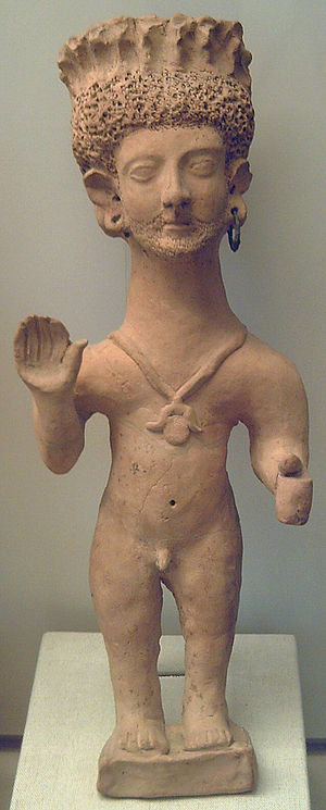 Punics - Punic praying statuette, c. 3rd century B.C.