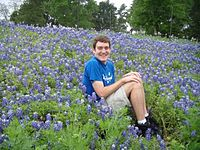 Texas Traditional Texas Bluebonnet Photograph Hubie Jeff Sara Baylor University.jpg