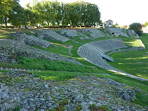 Autun - Roman theater