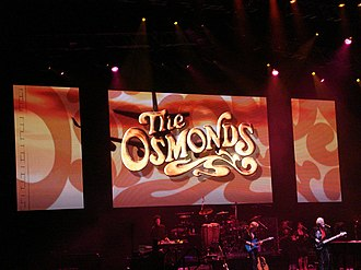 The Osmonds - The Osmonds performing in May 2008