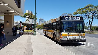 Public bus system for the city of Honolulu