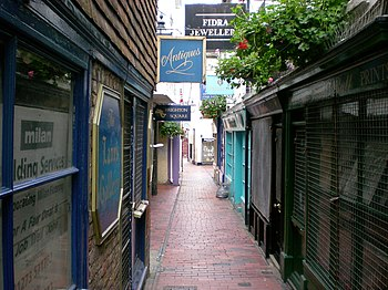 English: The Lanes, Brighton