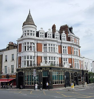 Kentish Town - Image: The Assembly House Pub, Kentish Town, London