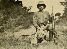 The Big Game of Africa (1910) - Lioness Sotik Plains 1909.png