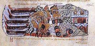 George Maniakes - The Byzantines under George Maniakes land at Sicily and defeat the Arabs