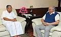 The Chief Minister of Kerala, Shri Pinarayi Vijayan meeting the Union Minister for Civil Aviation, Shri Ashok Gajapathi Raju Pusapati, in New Delhi on November 16, 2016.jpg