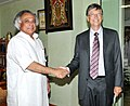 The Co-Chairman of the Bill and Melinda Gates Foundation, Mr. Bill Gates meeting the Union Minister for Rural Development, Shri Jairam Ramesh, in New Delhi on May 30, 2012.jpg