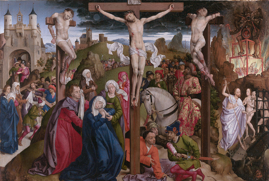 The Crucifixion Dreux Budé Master- Google Art Project