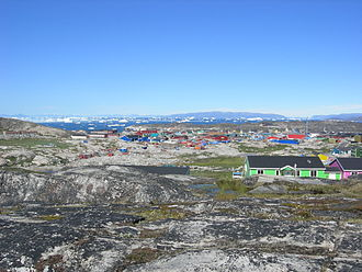 Disko Bay - Image: The Disko Bay Qeqertarsuaq greenland