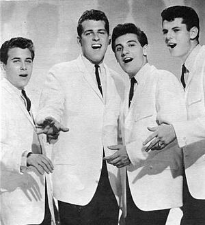 The Dovells - The Dovells in 1962.