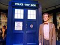 The Eleventh Doctor and the Tardis (6097276591).jpg