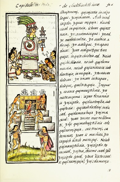 File:The Florentine Codex- Aztec Rituals.tiff