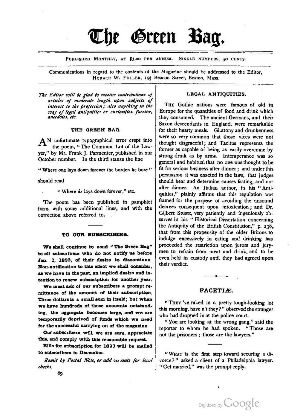 Page:The Green Bag (1889–1914), Volume 04 pdf/580
