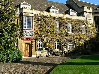 Christ's College, Cambridge - Image: The Master's Lodge, Christ's College geograph.org.uk 632926