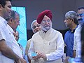 The Minister of State for Housing and Urban Affairs (IC), Shri Hardeep Singh Puri at the inaugural ceremony of the second reach of Kochi Metro, in Kochi.jpg
