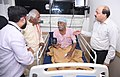 The Minister of State for Labour and Employment (Independent Charge), Shri Bandaru Dattatreya on a surprise visit to ESIC hospital, in Faridabad, Haryana on August 04, 2017 (2).jpg