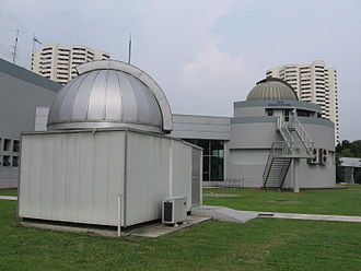 Science Centre Singapore - The Observatory at the Science Centre is one of the few observatories in the world located next to the Equator