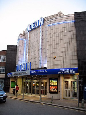 Everyman Cinema, Muswell Hill - The Odeon cinema in 2007.