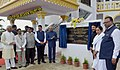 The President, Shri Ram Nath Kovind inaugurating the Vipassana Meditation Centre, at Dragon Palace, Kamptee, in Nagpur, Maharashtra.jpg