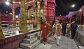 The Prime Minister, Shri Narendra Modi at Durga Mata Temple, in Varanasi, Uttar Pradesh on September 22, 2017 (1).jpg