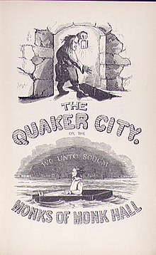 The Quaker City, or The Monks of Monk Hall (cover page).jpg
