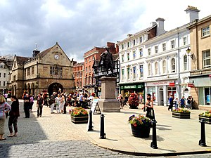 Shrewsbury - Image: The Square, Shrewsbury